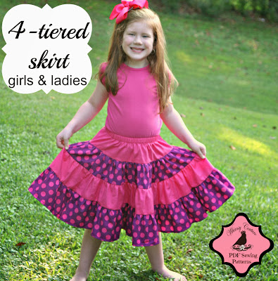 http://whimsycouturepatternshop.blogspot.com/2013/09/4-tiered-skirt-ebook.html