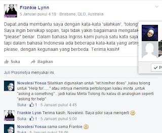 Perbedaan Silakan Tolong dan Minta Bahasa Indonesia