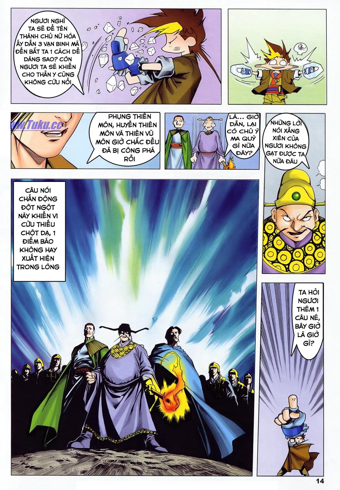Lục Đạo Thiên Thư chap 36 - Trang 14
