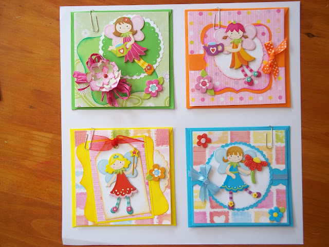Fairy Themed Cards