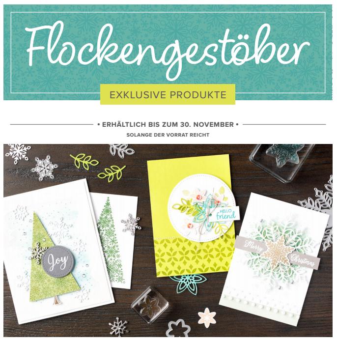 """Flockengestöber"" - nur vom 1. - 30.11.2018"