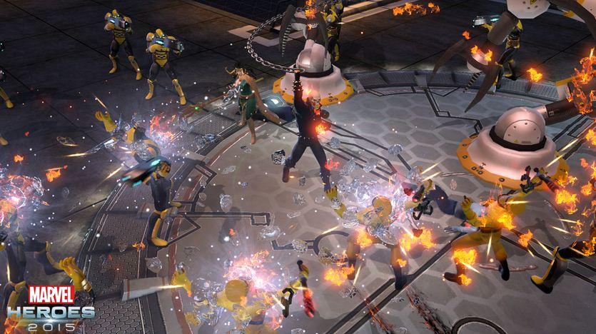 Download Game Marvel Heroes 2015 PC Windows dan Mac Gratis