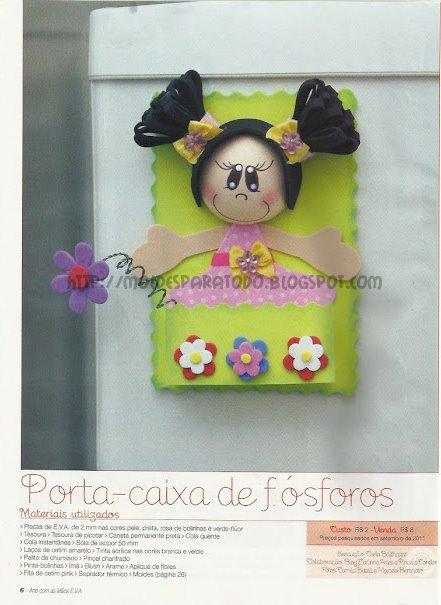 Fofucha porta-caja con pap y molde (descargado de la web) 4