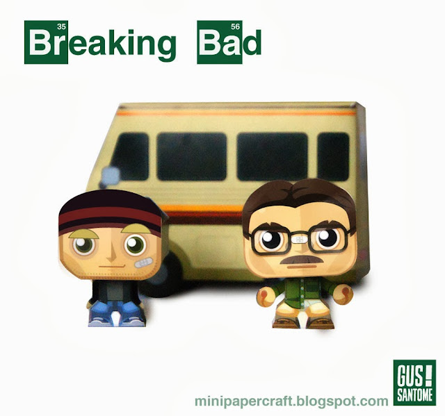 Breaking Bad Paper Toys