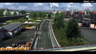 Euro truck simulator 2 Szczecin2