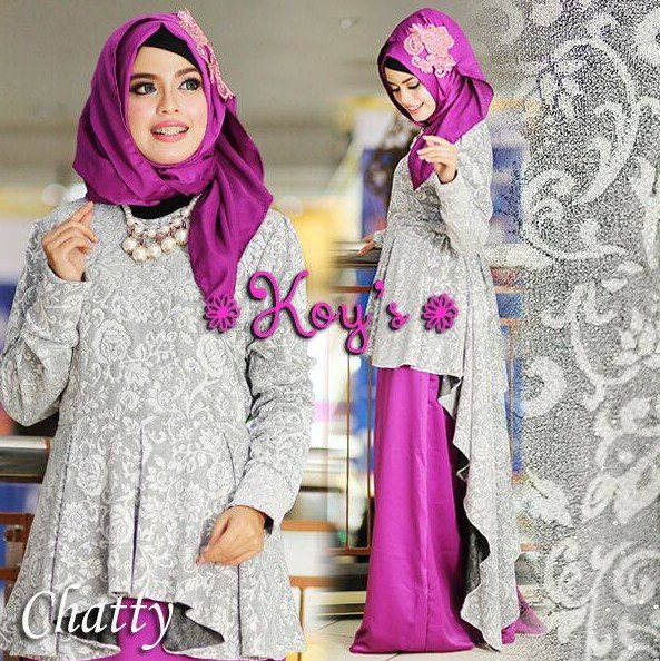 Model Fashion Terbaru Pakaian Muslim Wanita 2016 Model Terbaru Kaemfret Blog
