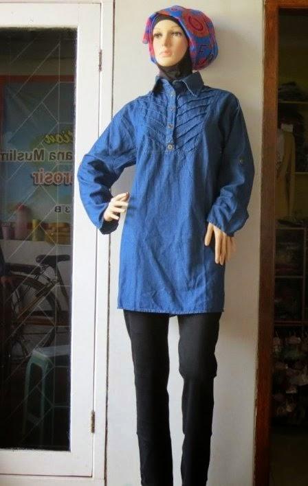 Blouse Jeans Plus Size AJ940