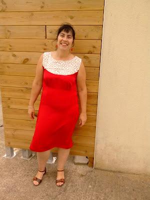 Robe d'été o'jémymaju'p Myriam Arnaud