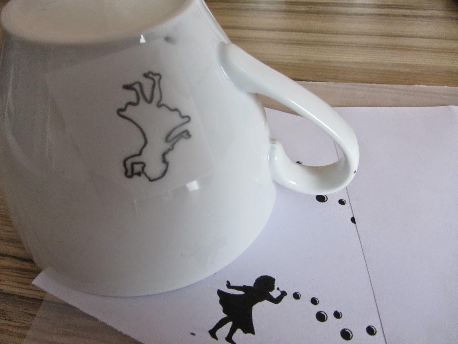 DIY, Häkelblog, Amigurumi, Tasse bemalen, Porzellanmaler, kreativ