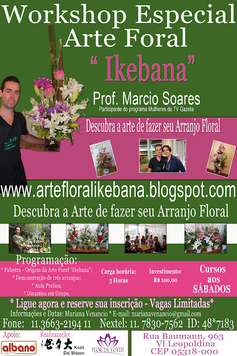 WORKSHOP DE IKEBANA ESPECIAL.