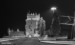 Fotografia a preto e branco - Torre de Belém