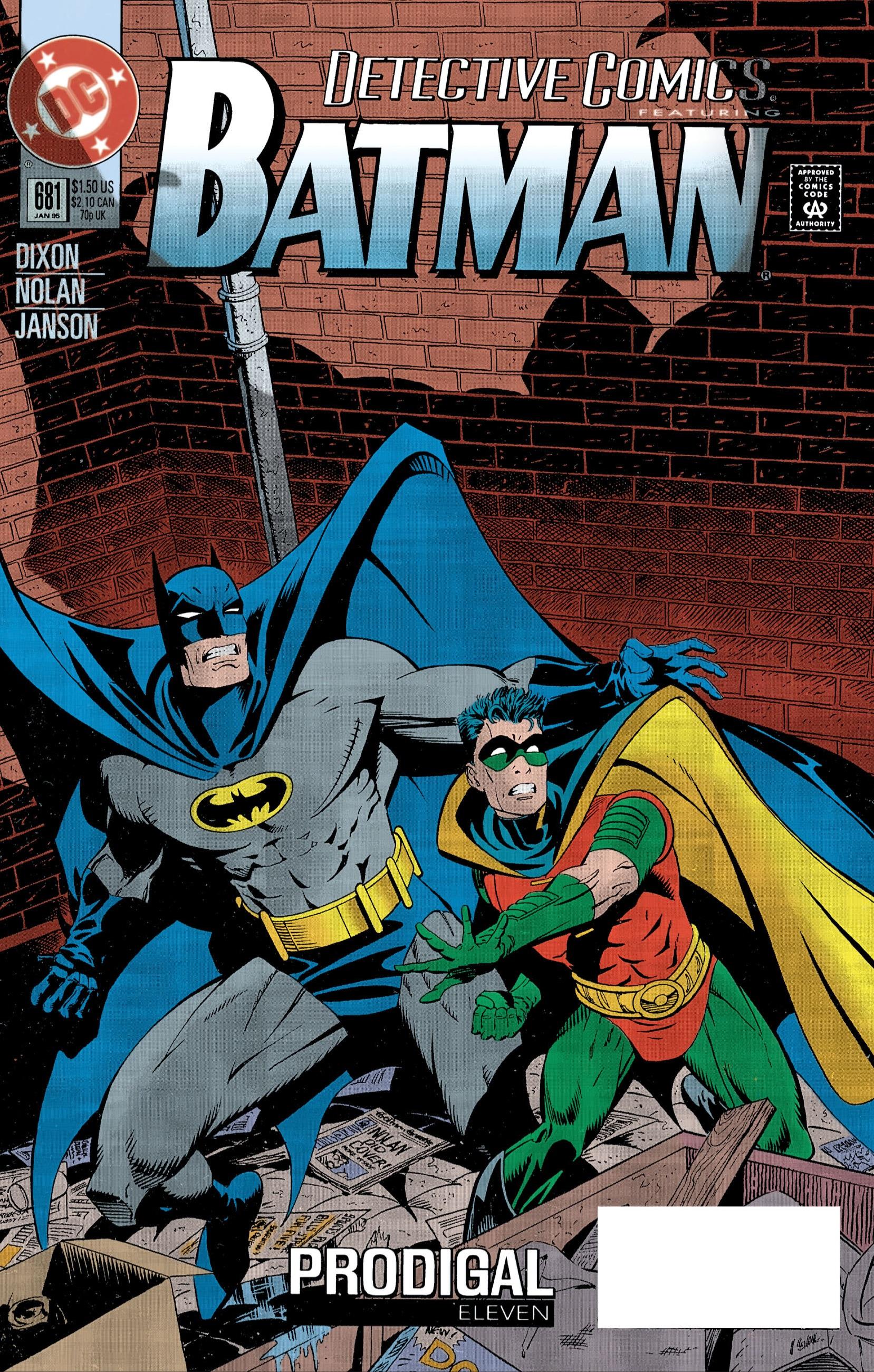 Detective Comics (1937) 681 Page 1