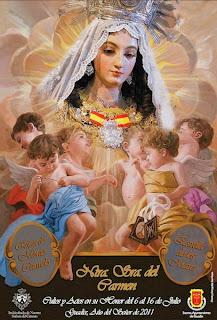 Guadix - Cartel Virgen del Carmen 2011