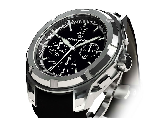 Revelation - R03 Chronographe RS side front