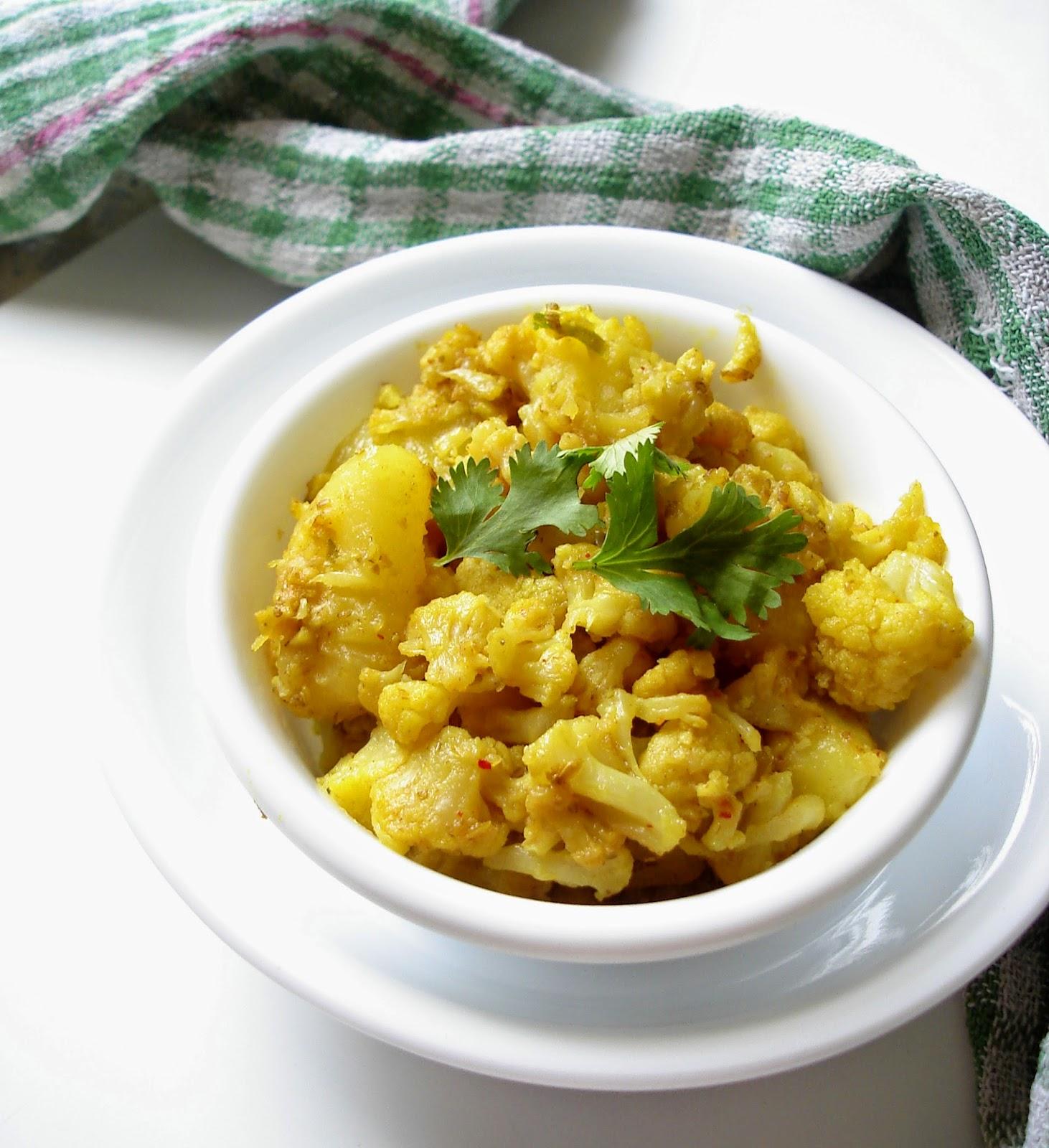 Punjabi Alu Gobi curry