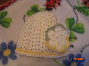 Lacey Hat with Flower
