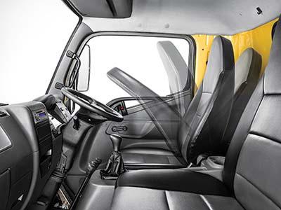 Reclining Seat Mitsubishi Fuso FI 1217