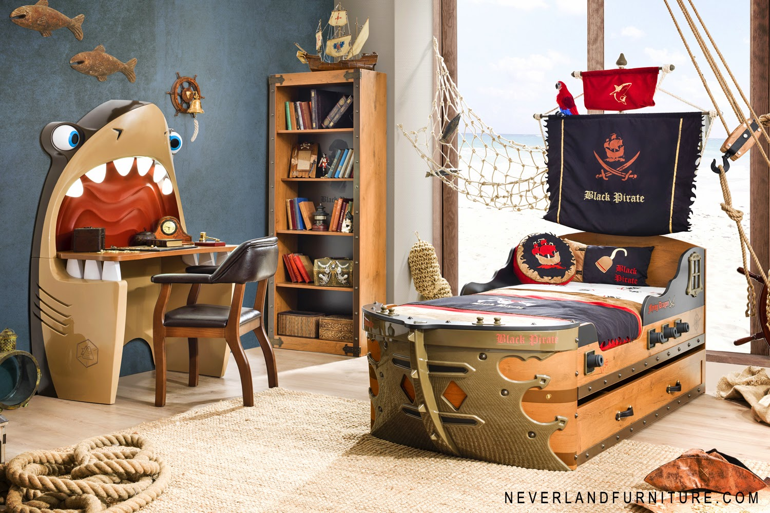 Office chair on sale in canada black pirate gunboat bed for Boys bedroom furniture