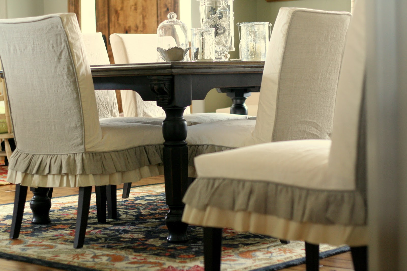 custom slipcovers by shelley jenn 39 s parson chairs