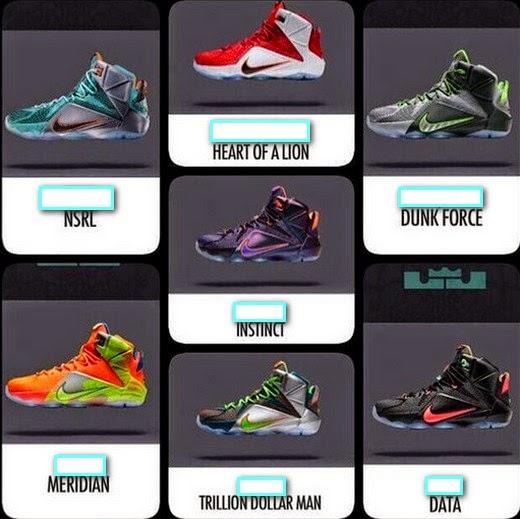 lebron 11 colorways list