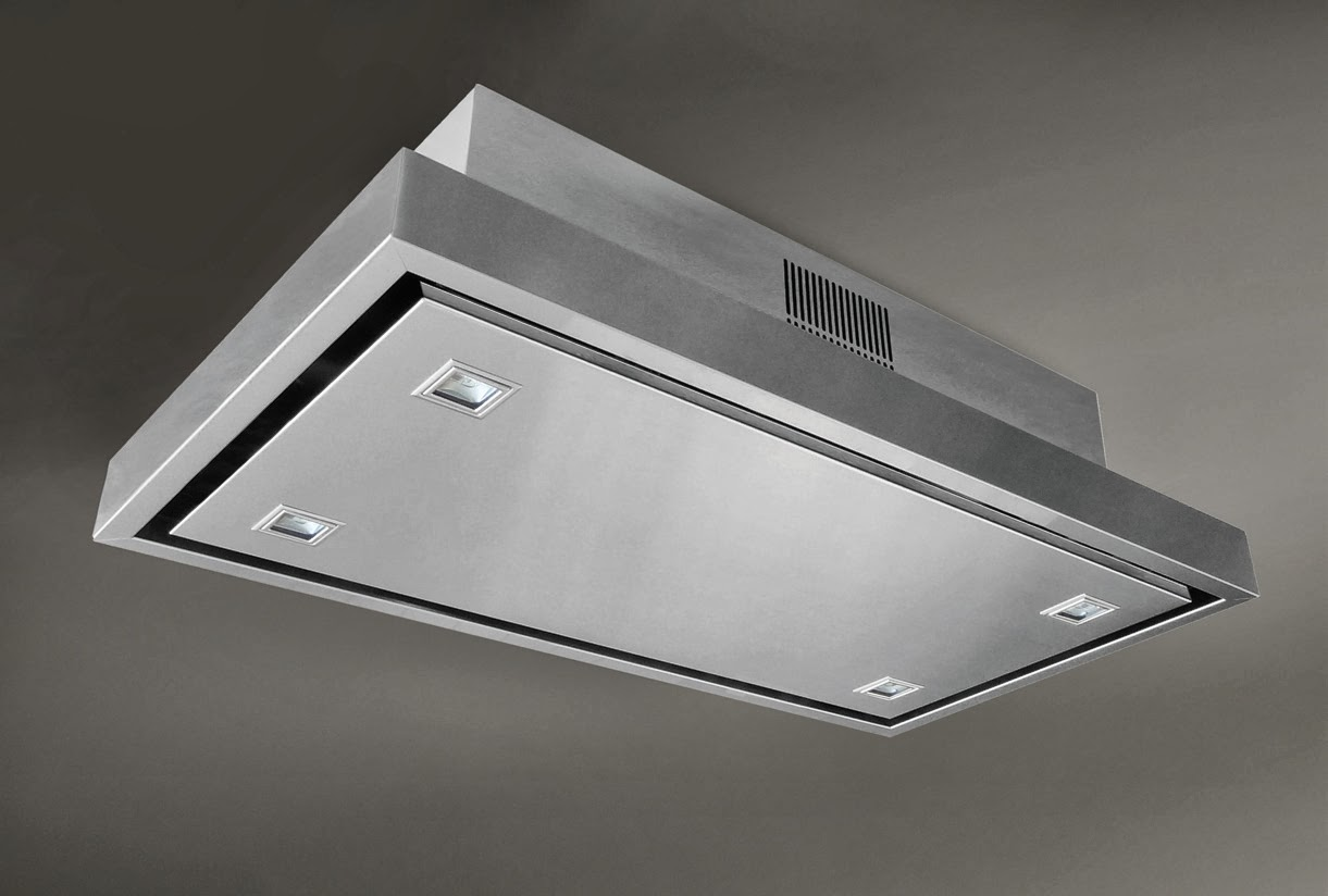 Stratos The New Ceiling Mounted Extractor Hood From Elica