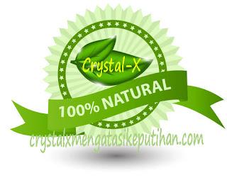 Crystal X Asli PT. NASA