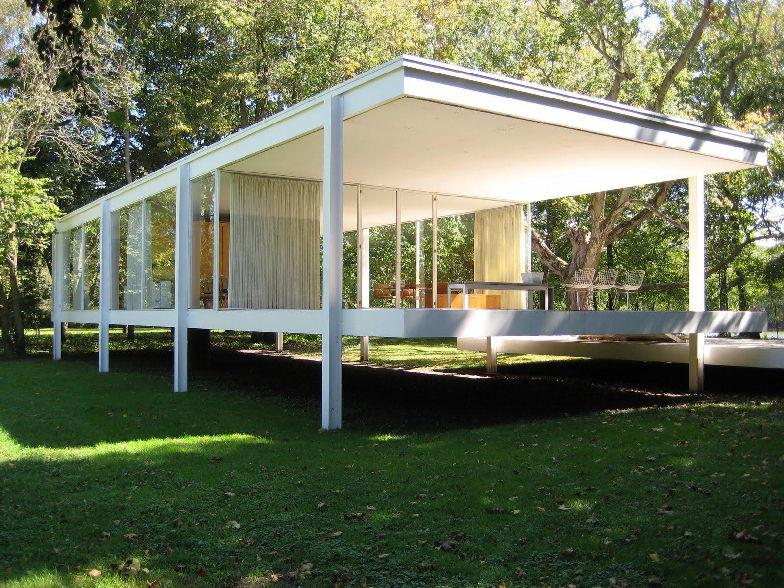 Creative people lab mies van der rohe il mercoled d autore for The farnsworth