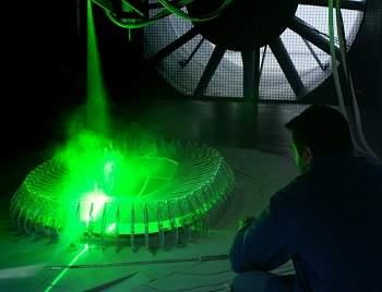 Estádio da Copa de 2014 é testado em túnel de vento