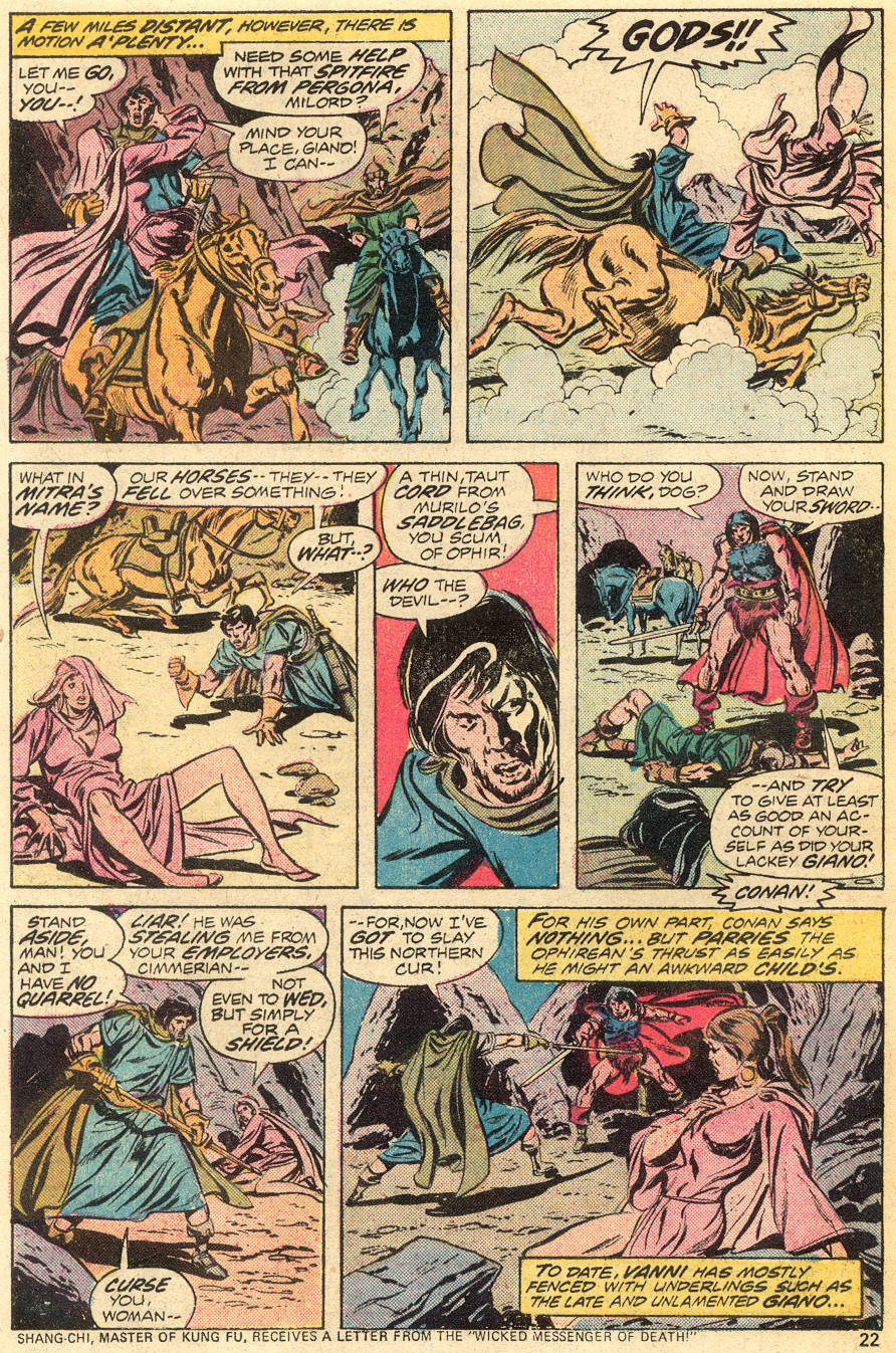 Conan the Barbarian (1970) Issue #55 #67 - English 14