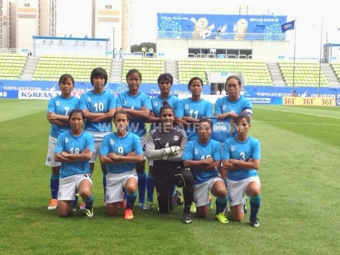 Indian Women's Team lost to Thailand