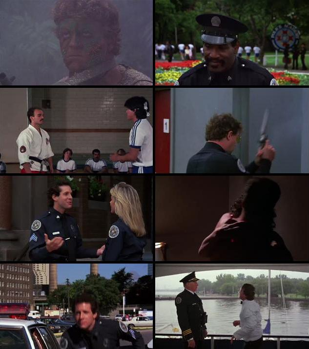 Police Academy 3 Back In Training 1986 Dual Audio Hindi 480p BluRay 300mb