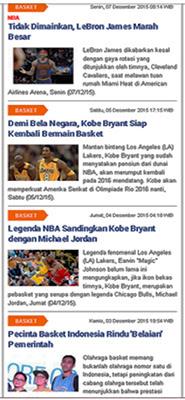 Berita Olahraga Basket