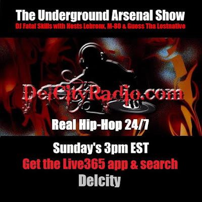 https://www.mixcloud.com/DelCityRadio/the-underground-arsenal-show-9-13-15/