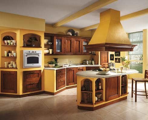 Muebles y decoraci n de interiores cocina r stica italiana - Cucine in muratura scavolini ...