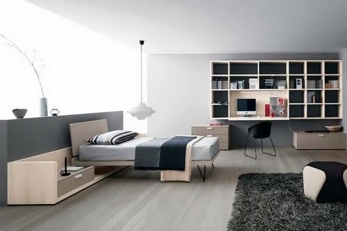 tips menata kamar tidur sempit minimalis desain rumah