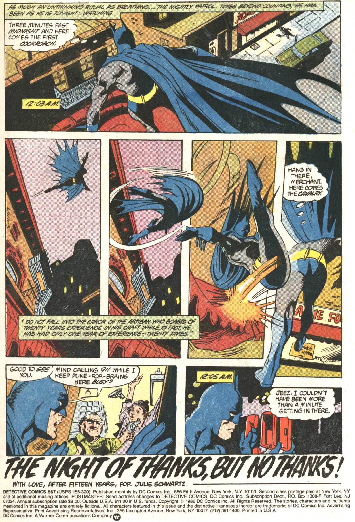 Detective Comics (1937) Issue #567 Page 2