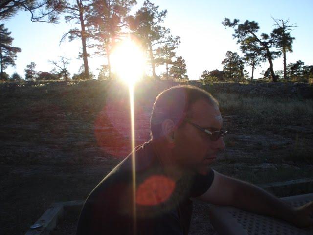 Husband's last camping trip