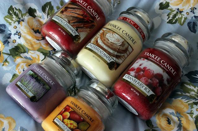 Picture of a Yankee Candle Haul