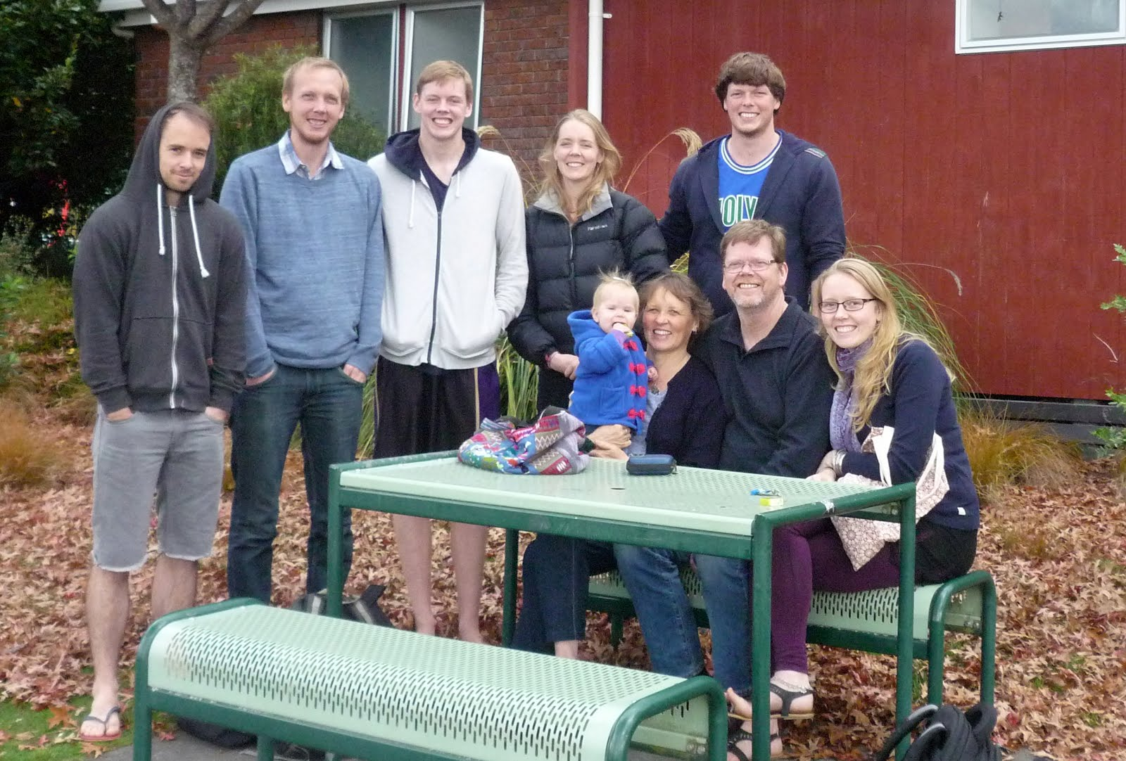 the family in turangi (new zealand)