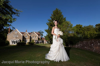Bridal Portrait, Steeple Court Manor, Botley, Hampshire