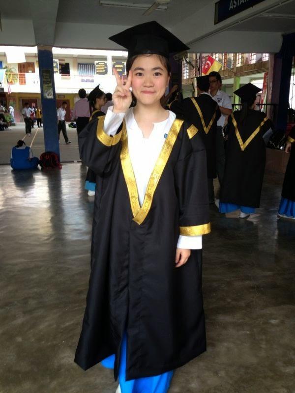 I'm graduated.