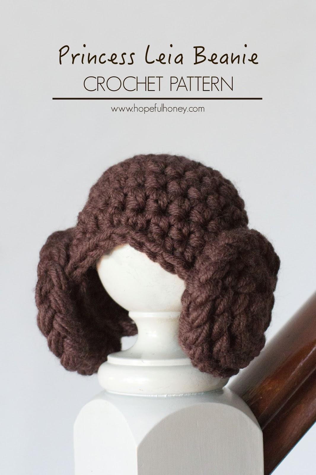 Crochet Pattern Princess Leia Hat : Hopeful Honey Craft, Crochet, Create: Princess Leia ...