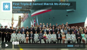 Maersk's Largest ship