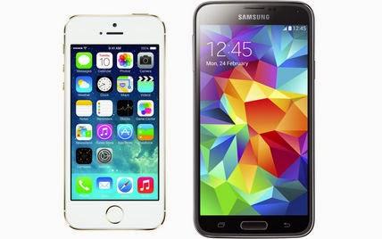 Lebih Bagus iPhone 5s Atau Samsung Galaxy S5 ?