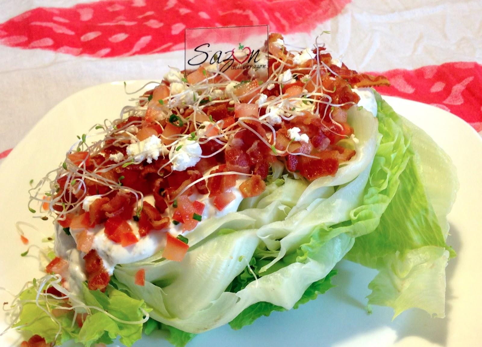 Saz n del coraz n ensalada de lechuga for Decoracion de ensaladas
