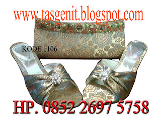 tas pesta dan sandal pesta, clutch bag indonesia, online shop tas pesta