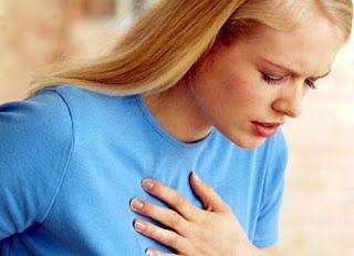 serangan jantung wanita