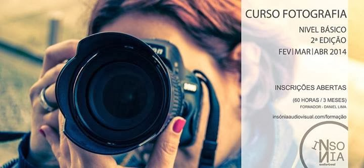 curso de fotografia em Vila do Conde