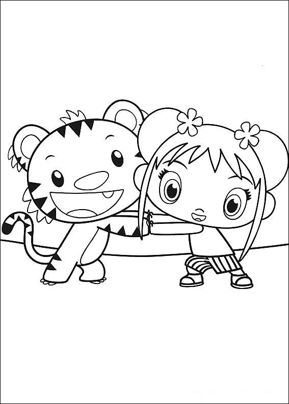 Fun Coloring Pages: Ni Hao Kai Lan Coloring Pages