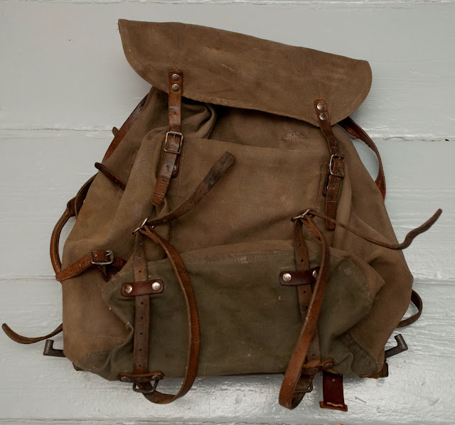 1950's Swedish Army Rucksack